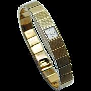 VACHERON & CONSTANTIN Rare Ladies Bracelet Watch 18K Gold Estate Jewelry