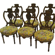 Louis XVI dining room chairs