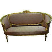 19th century special Corbeille sofa