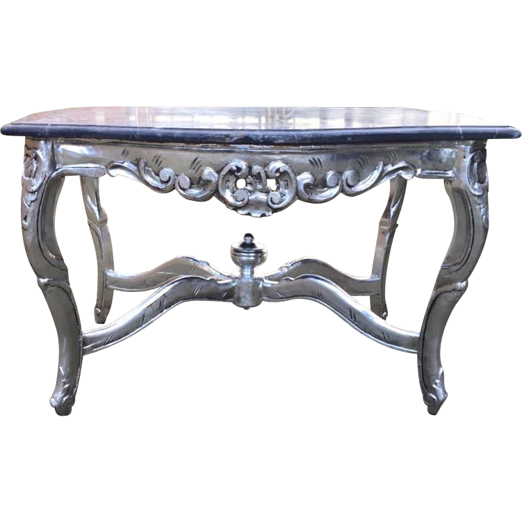 19th Century Baroque Style Coffee Table From Maisondantique On Ruby Lane