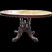 18th century English center table
