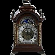 Antique Dutch Shelf Mantle clock - Franz Hermle - Free shipping