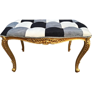 Bed bench in Louis xvi style