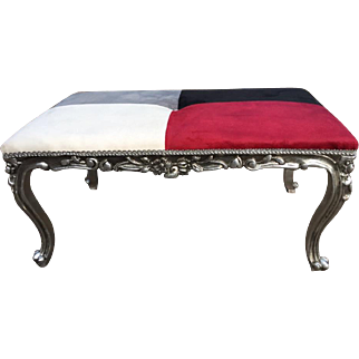Bed bench in French design