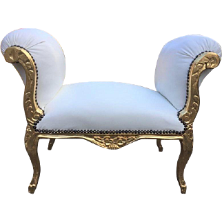 Very nice bed bench in Louis XVI style