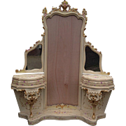 Venetian Vanity Make-Up Table with handmade paintings