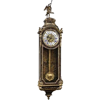 Original French boulle regular clock - free shippng