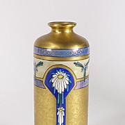Pickard China Hand Painted Art Nouveau Design Edgerton Gilt Vase 1912-1918
