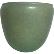 Marblehead Pottery, Wall Pocket Vase, Matte Gray, HTF