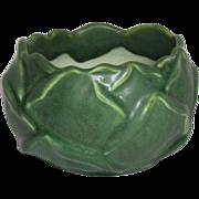 Hampshire Pottery, Matte Green Artichoke Vase, Wonderful Form