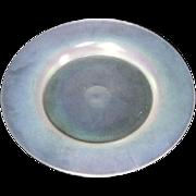 Steuben, Verre de Soie Luncheon Plate, Very Nice
