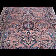 Lilian Small Carpet , Oriental Rug , Hamadan Area , West Persia 1920's , 9.3 x 6.11