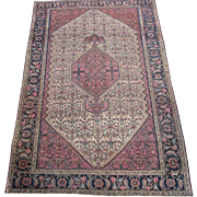 Antique authentic Sarouk Ferahan circa 1890 , 6.2 x 4.1
