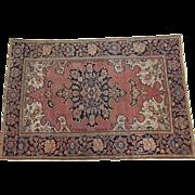 Antique Persian Sarouk Ferahan Oriental Rug,circa 1900 , 5 x 3.3
