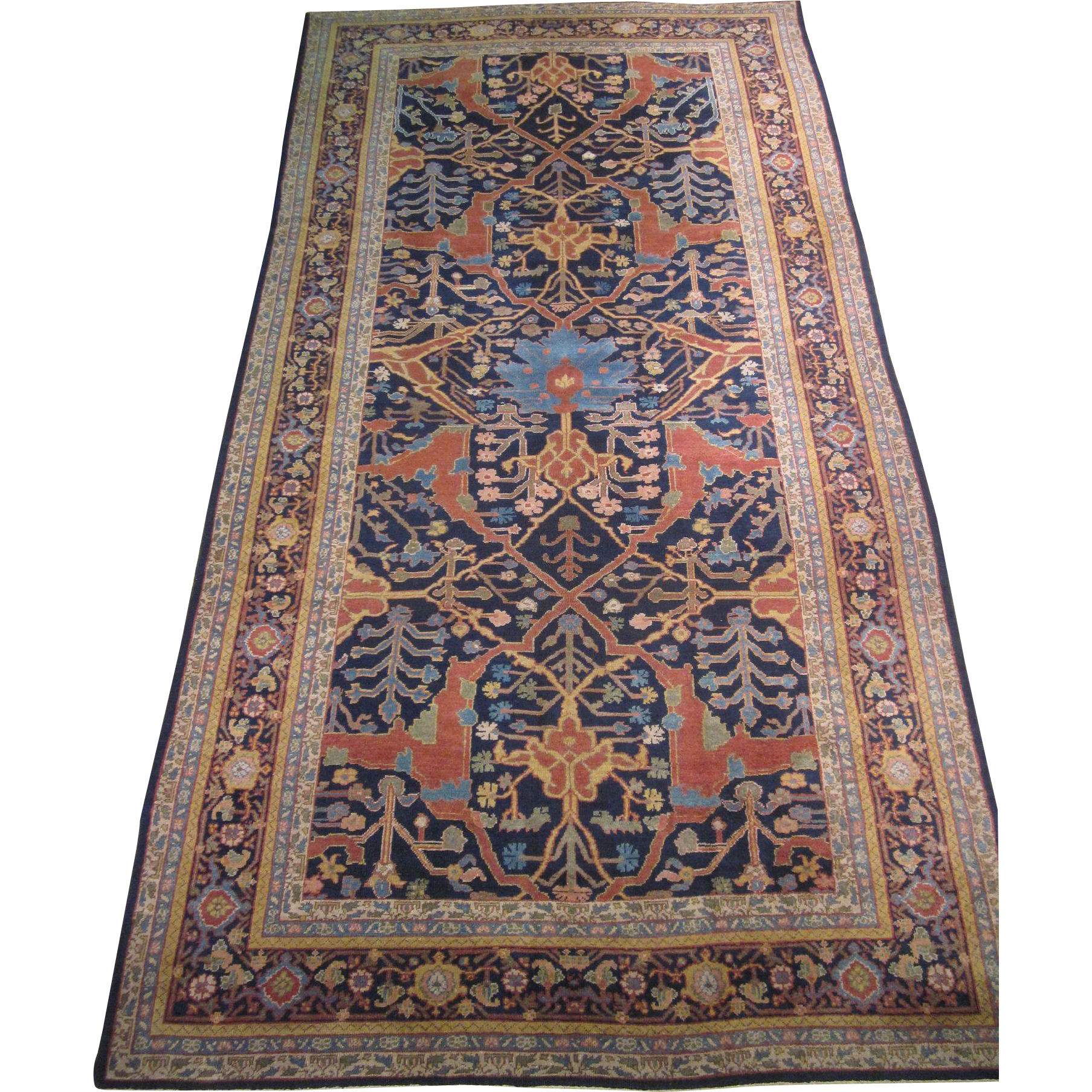 Indian Gallery Carpet , Oriental Rug , Northern India