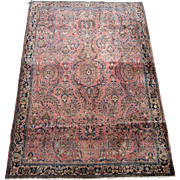 Persian handmade Sarouk circa 1920 , 6.2 x 4.2