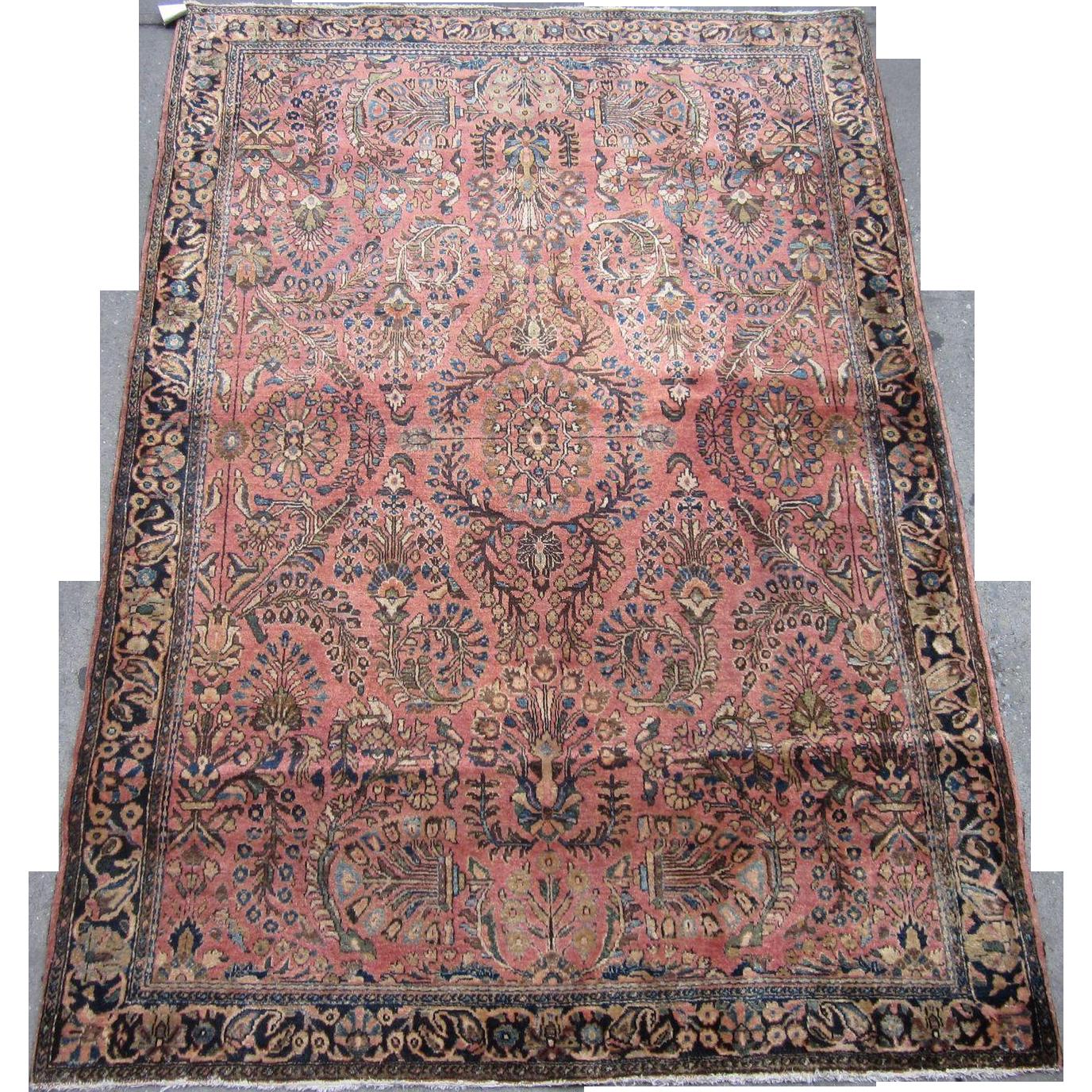 Persian Handmade Sarouk Circa 1920 6 2 X 4 2 A