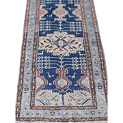 Northwest Persian Runner , Oriental Rug , Early 20th Century , 16.8 x 3.2