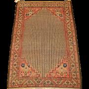 Malayer- Hamadan Oriental Rug,Western Persia circa 1900 , 6.6 x 4.3