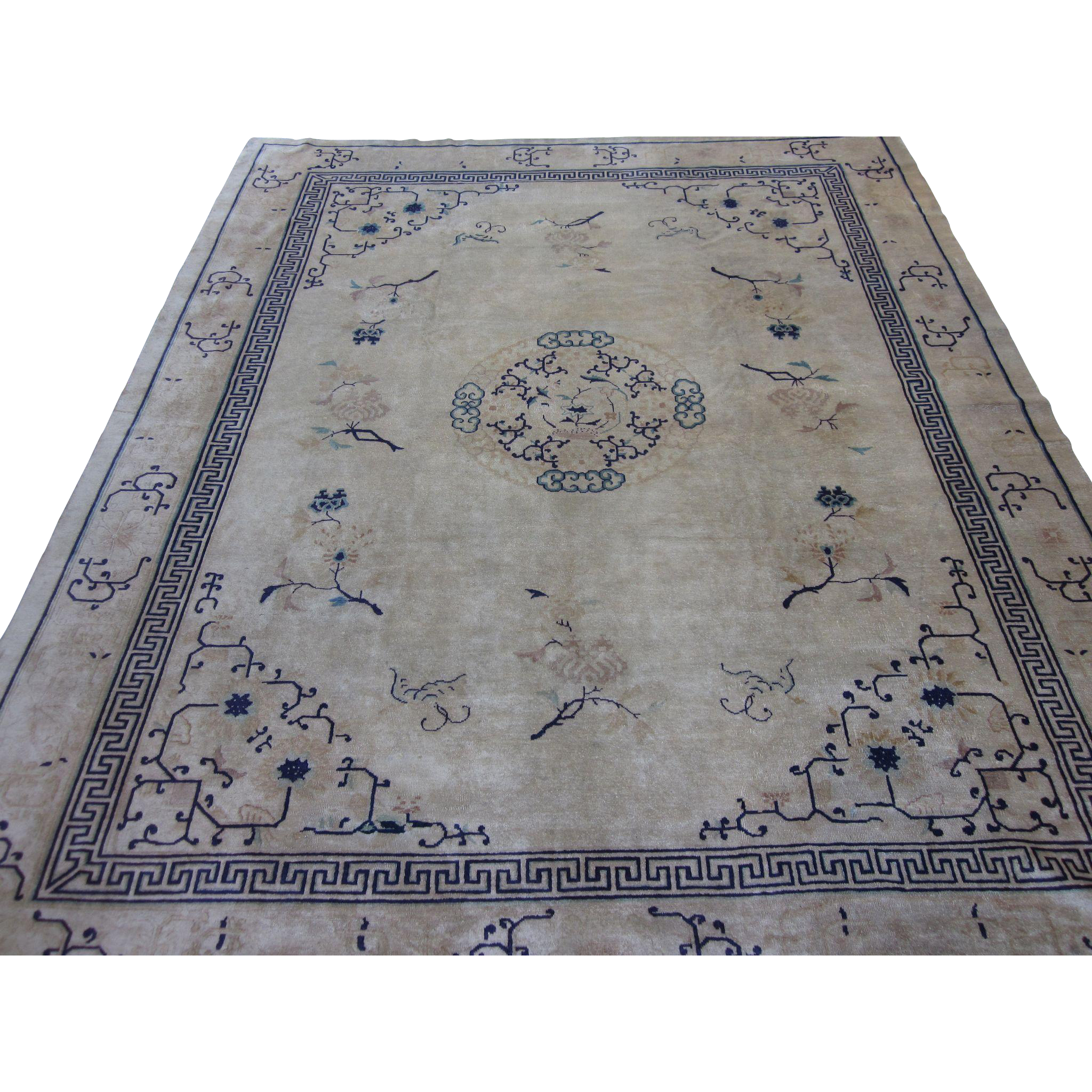 Peking Chinese Carpet Oriental Rug Northeast China