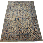 Meshed Small Oriental Carpet , Khorassan Province , Northeast Persia circa 1930 , 8.11 x 5.11