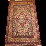 Authentic Antique Persian Lavar Oriental Rug circa 1900 , 7x4