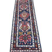 Antique Karadagh runner,Northwest Persia,circa 1880, 9.8 x 3.1