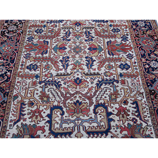 Heriz Goravan Carpet , Oriental Rug , Azerbaijan Province , NW Persia , Early 20th Century , 10.8 x 8