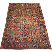 Persian handmade Sarouk  circa 1920 , 8.6 x 6.2