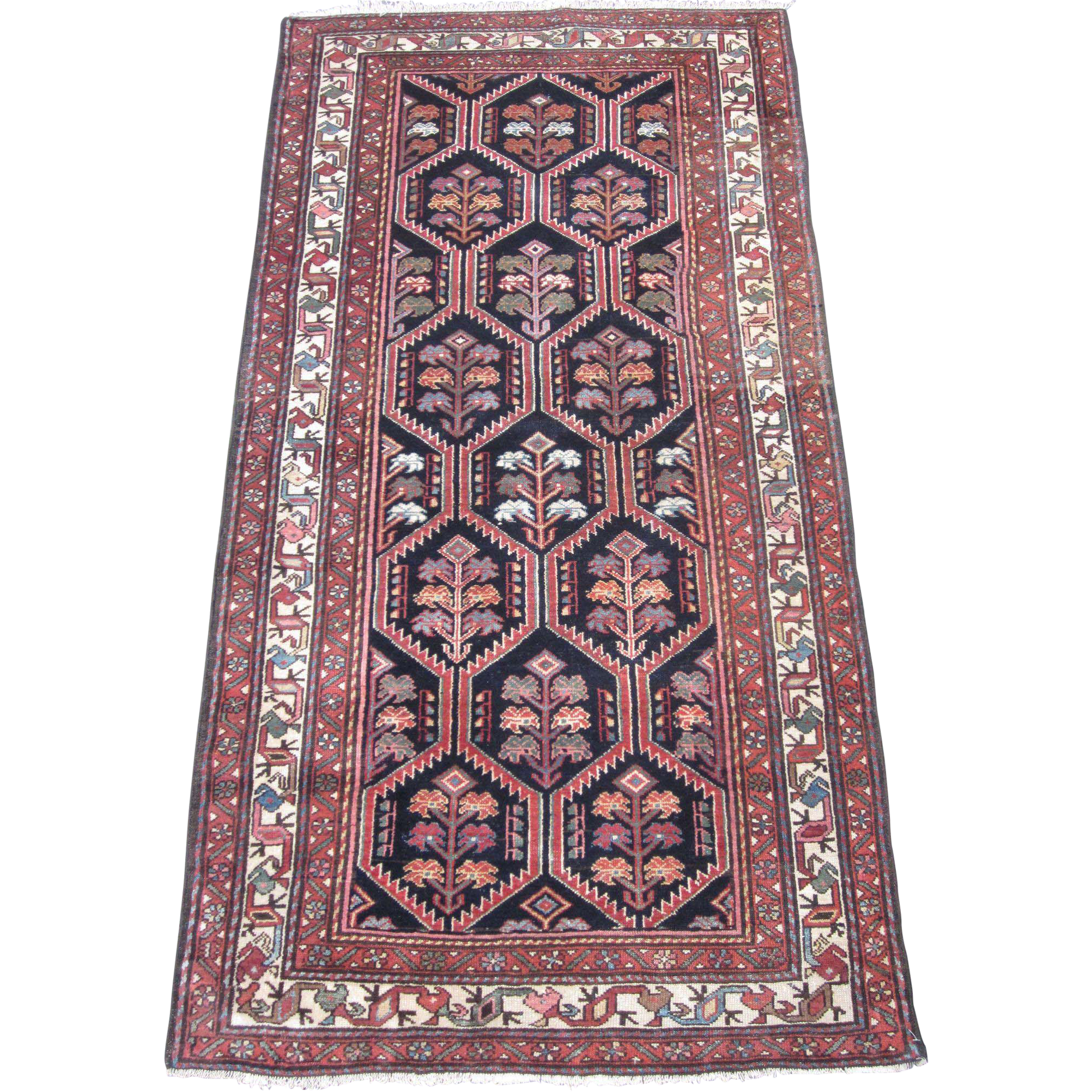 Western Ma Rugs: Antique Malayer Oriental Rug , Western Persia ,Early 20th