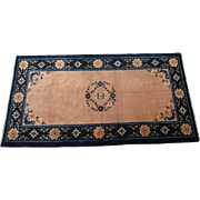 Peking Chinese Oriental Rug , NE China , Early 20th Century , 5.9 x 3 - Red Tag Sale Item