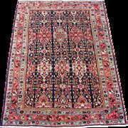 Small Bidjar Oriental Rug , Kurdistan , NW Persia , Early 20th Century , 5.3 x 3.9