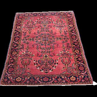 Lilian Oriental Rug , West Persia , Hamadan Weaving Region  1920's , 6.3 x 5.2