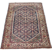 Antique Malayer Oriental Rug,Greater Hamadan Weaving Region,Western Persia circa 1900 , 6.6 x 5