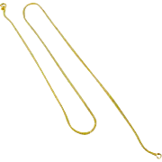 Fine 14k Yellow Gold Pendant Chain