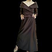 ❤❤❤❤❤ VINTAGE SALE!!! ❤❤❤❤❤ NOS-Deadstock $330.00  Vintage 90s Iconic Off-the-Shoulder TADASHI Gown Dress -- 1990s