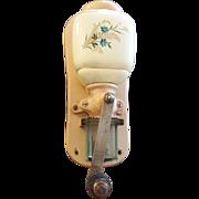 Rare Art Deco Wall Mount Zassenhaus Model 864 Coffee Grinder Mill