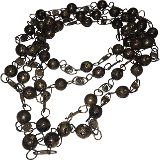 African Traditional Marriage Beads Steel Undated