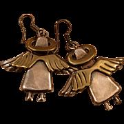 Mexican Angels earrings eighties 80's