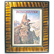 "Vintage ""Winchester"" Rifle Advertising Engraving"