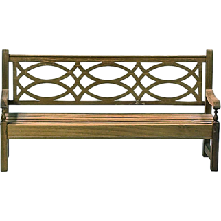 Vintage English Model Wooden Lutyens Bench
