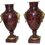Tole French Urns