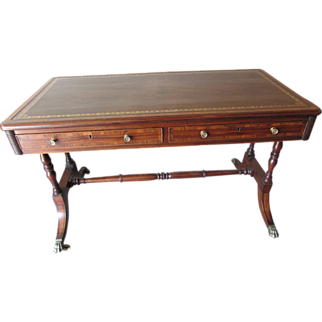 Writing Desk, English, Regency, 19th C.