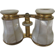 Binoculars, French, 19th Century, Mother of Pearl