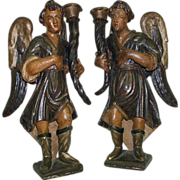 Venetian Carved Angels, 17th Century