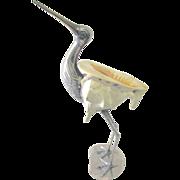 Italian Crane Sculpture, 20th C.