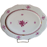 Herend Chinese Bouquet -  Raspberry - Platter 702/AP