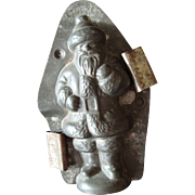 Antique Chocolate Mold - Anton Reiche - Father Christmas