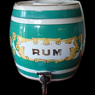Staffordshire Rum Keg