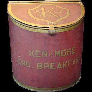 Country Store Tea Tin